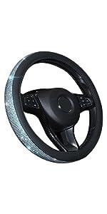 Pahajim Universal Steering Wheel Cover Auto Lenkradhülleheavy Duty Mikrofaser Weich Lenkradbezug 38cm 15 2 Beige Auto