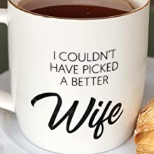 : romantic gifts for her unique, best wife ever mug, best wife coffee mug, wife gifts from husband