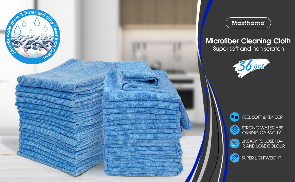 36pcs cleaning cloth