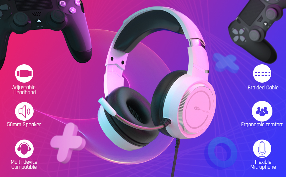 MageGee Wired Gaming Headset