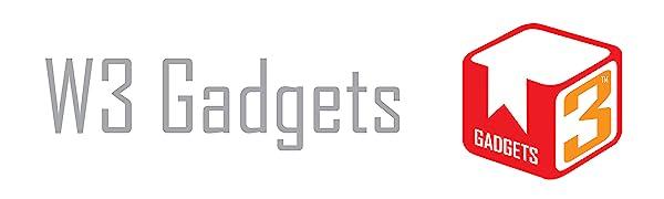 W3 Gadgets top banner logo