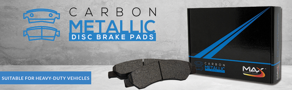 Carbon Metallic Disc Brake Pads Suitable for Heavy-Duty Vehicles