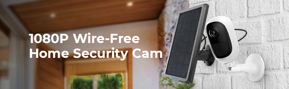 wireless outdoor security camera system