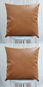 Efolki Decorative MudclothFarmhouse Throw Pillow Covers and Cases18x18inch Set of6,Modern Design