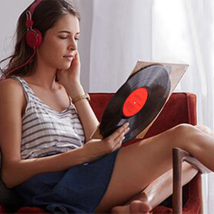Vinyl Record Player Turntable 3 Speed