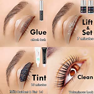 How to use the libeauty LASH Lift &Tint