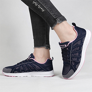 womens white tennis shoes blue non slip shoes women athletic shoes casual ladies comfort sneakers
