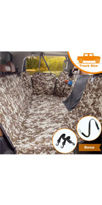 dog seat cover for trucks