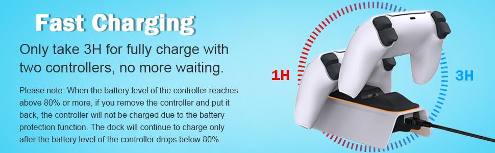 A base TwiHill é adequada para controlador PS5, estação base Playstation 5
