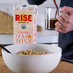 RISE Brewing Co Coffee and Cereal