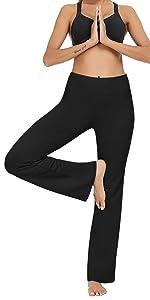 Boot-Cut Yoga Pants