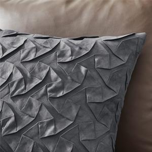 grey sofa pillows