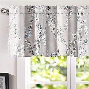 Mackenzie window valance gray