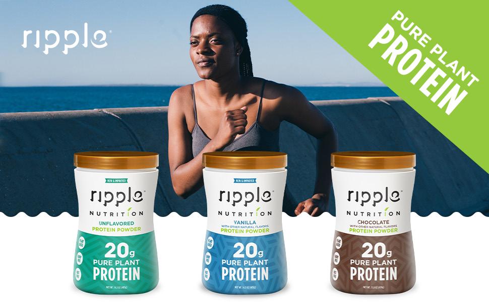 Ripple Protein Powders header