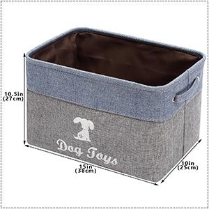 dog toy storage basket toy basket for pets large dog food storage container dog bins for toys