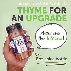 8oz large spice bottle