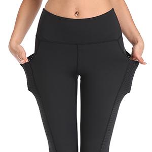 Women Workout Yoga Leggings Wirh Side Pocket