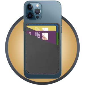 Black iphone wallet