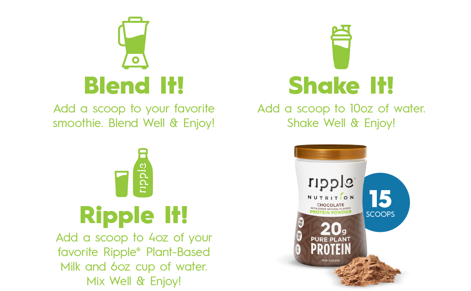 Ripple Pea Protein