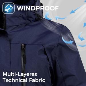 Windproof Snow Coat
