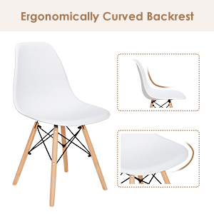 Ergonomic design, relax the back and body