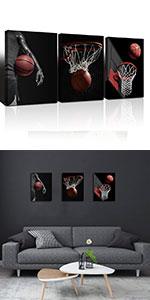 basketball  wall art