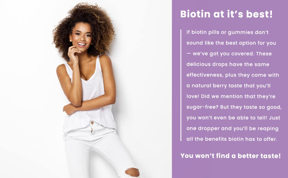 biotin supplement liquid 10000mcg
