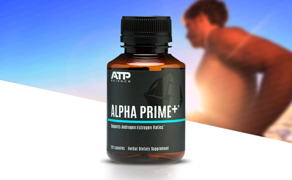 ATP Science Alpha Prime Dietary Supplement Powerful Booster for Men's Women's Health Hormone Balance