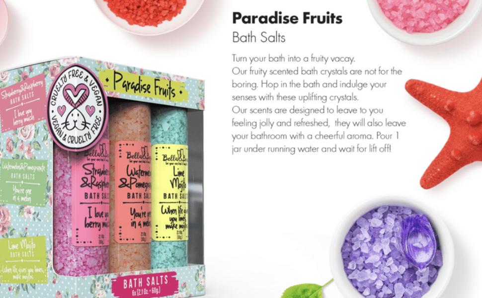 Paradise Fruits Bath Salts