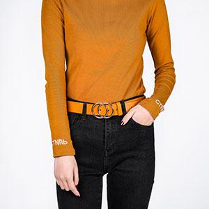 yellow vintage belts