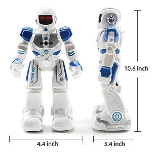 robot dimension