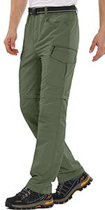 linlon Fulture Direct Mens Hiking Pants Quick Dry Lightweight Fishing Camping UPF 50+ Cargo Pants