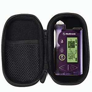 AGOZ Insulin Pump case pouch cover protector holster onetouch tandem tslim x2 medtronic 670 dexcom