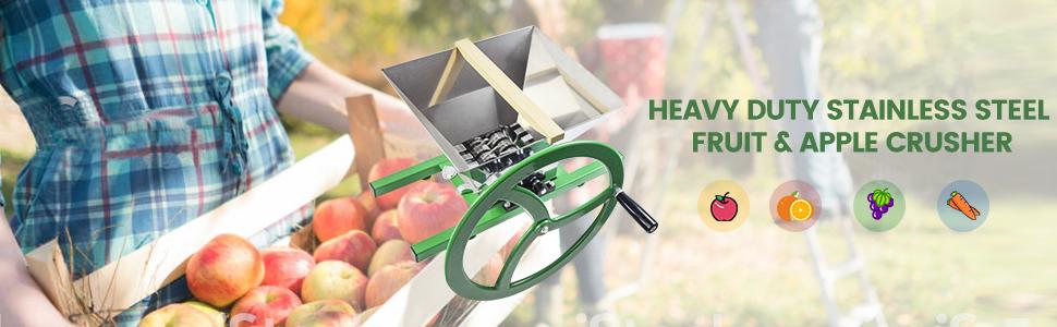 Large Cheese Fruit Tincture HDPE Aluminum Press Organic-Free Shipping