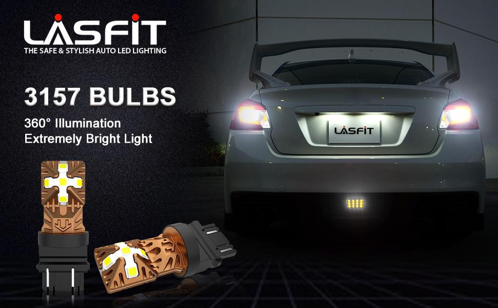 3157 3156 3057 4157 LED Turn Signal Side Marker Light Bulb