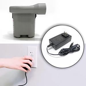 enerplex camping air mattress wall adaptor plug in pump inflatable air mattress fast inflate pump