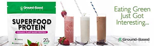 plant-based protein, vegan protein, vanilla protein, chocolate protein, organic protein