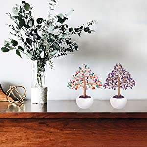 healing gemstone tree