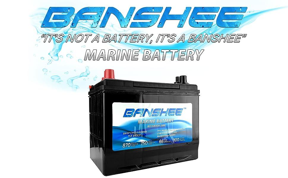 SC34DM 8016-103 D34M Blue Top Marine Deep Cycle Battery