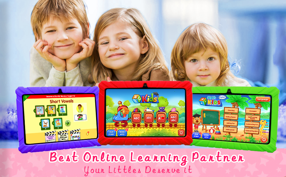 KIDS TABLET EDUCATION LEARNING