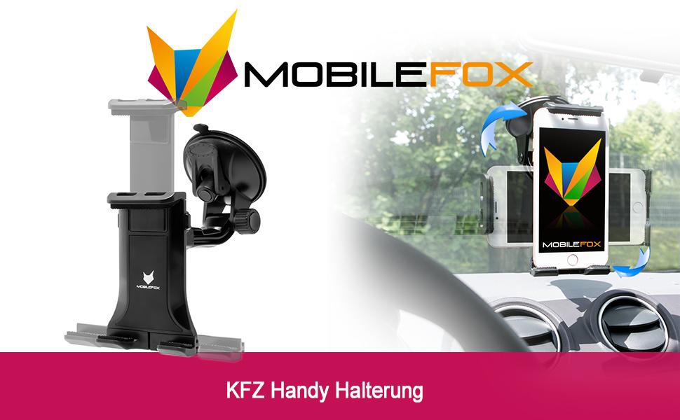 Mobilefox Kfz Auto Halter Halterung Für Huawei P40 P30 Elektronik