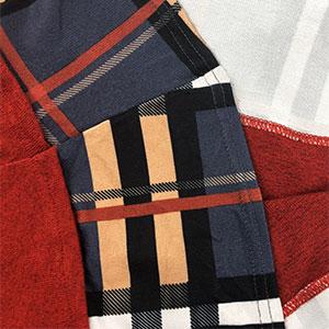 Stripes or plaid hem