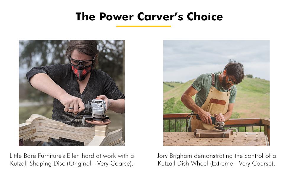 kutzall power carver's choice