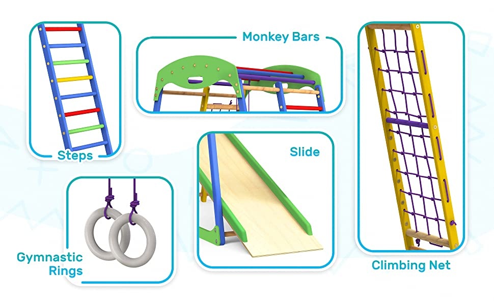 kids climbing toys play area for toddlers gym kit for kids kids indoor slide playground indoor