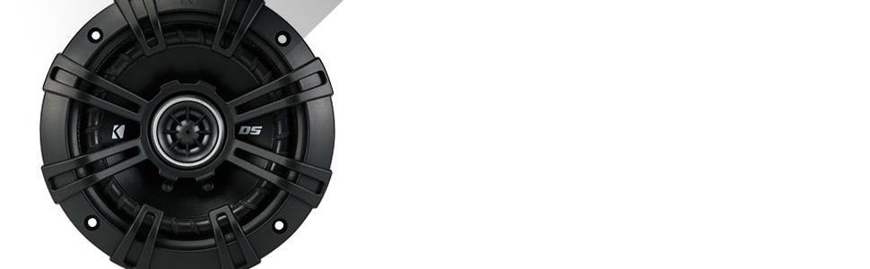 KICKER DS-Series coaxial speakers
