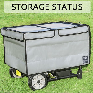 generator tent cover while running