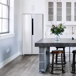 American Fridge White Black Details Quality Universal 2 Door Capacity