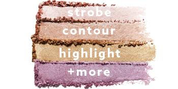 nonzer shade swatches undone beauty face highlighter Highlighter makeup powder gold makeup