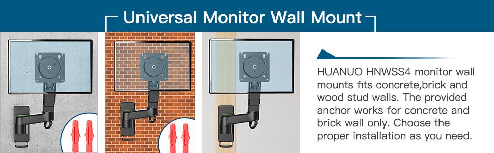 monitor wall mount