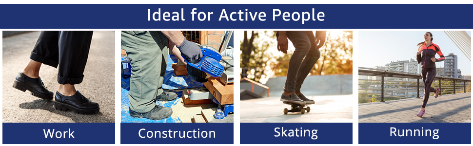 ideal for active people